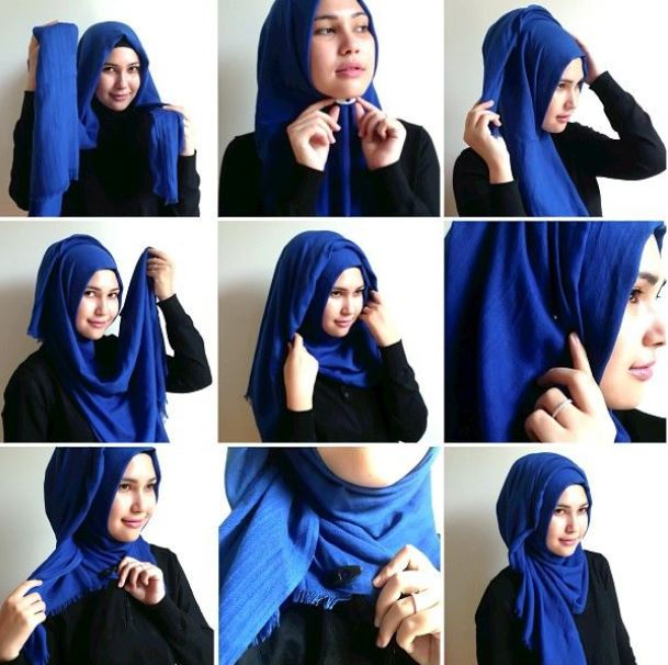 Tutorial Hijab Pashmina Remaja Terbaru – Tutorial Hijab ...